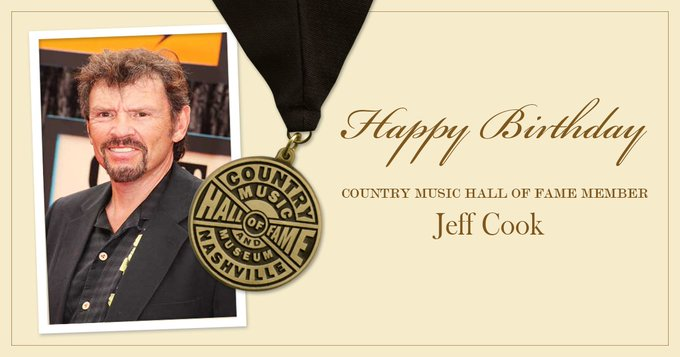 Happy Birthday to Country Music Hall of Fame member Jeff Cook of We hope it\s a great day, Jeff!