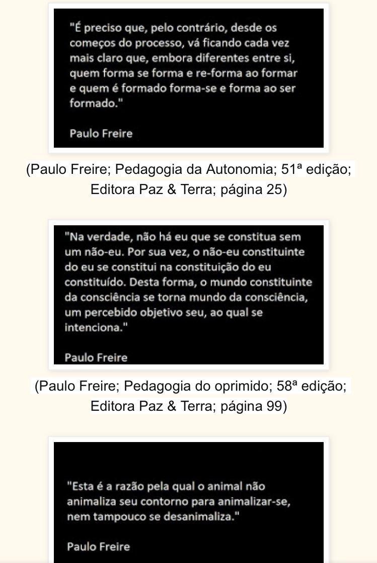 Gil Giardelli On Twitter Frases De Paulo Freire Idolatrava