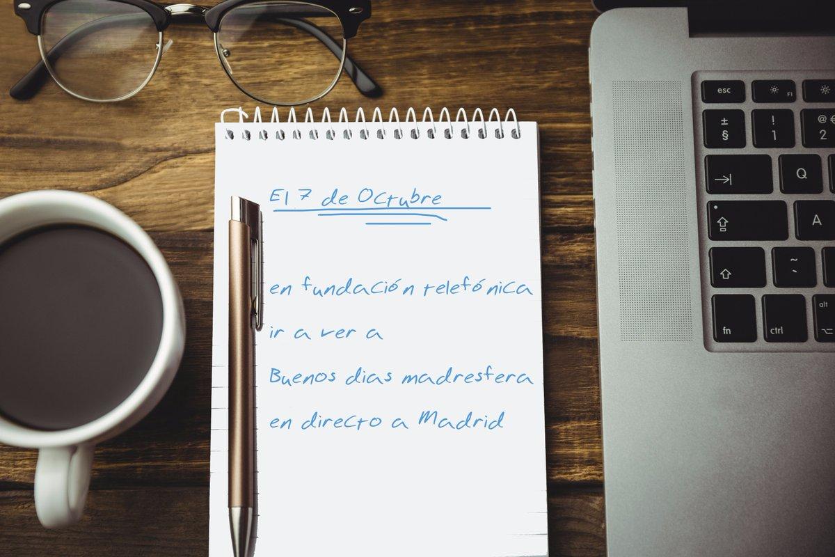 Apuntad en la agenda DESDE YA. Es vuestro momento de ir a Madrid. 7 de Octubre https://t.co/dzhZjkF2Tn
