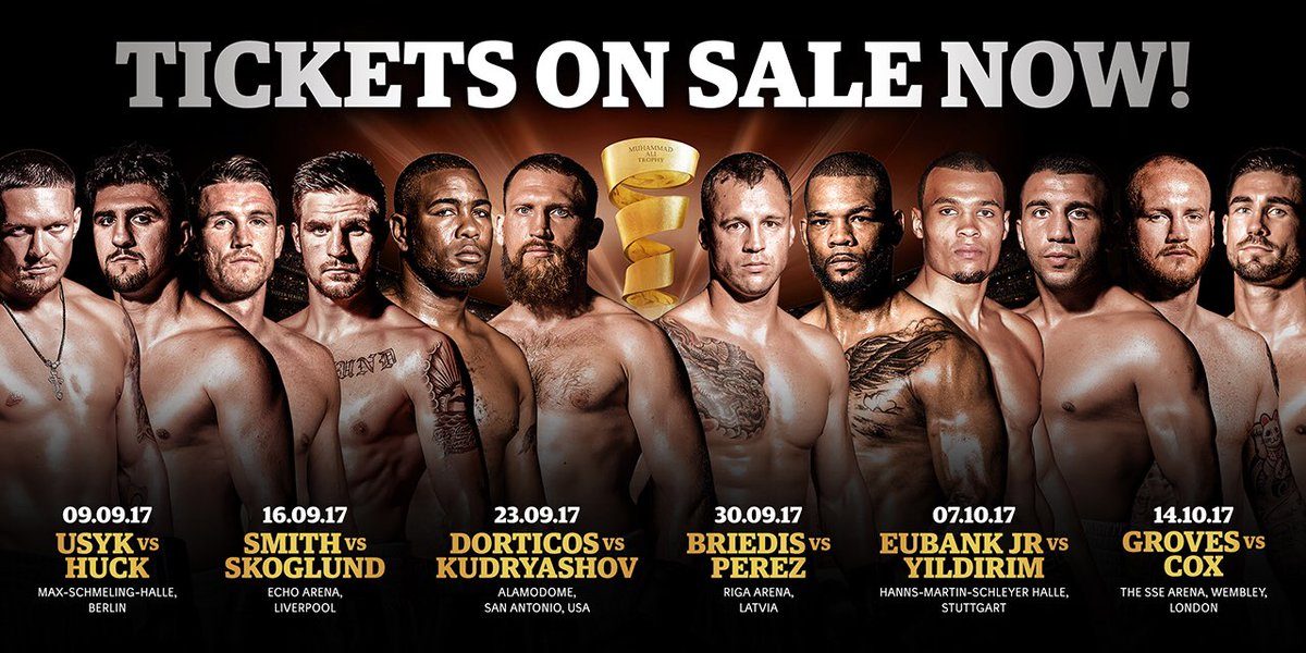 World Boxing Super Series on T...