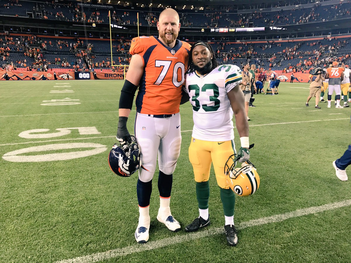 Aaron Jones 3 3 On Twitter From Playing Together At Utep In Basketball And Football To Playing Against Each Other In The Nfl Minerstrong