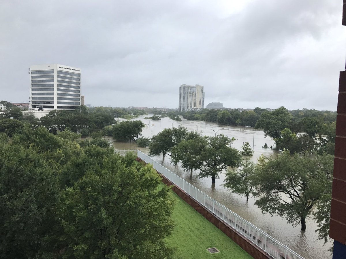 Allen Parkway turned a river. https://t.co/Gd0ppvcJd2