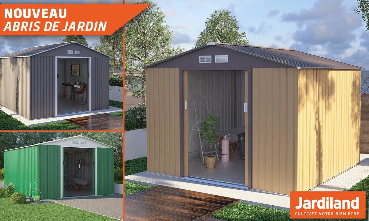 awesome jardiland nc noum a on twitter abris de jardin vos outils et with abri buches jardiland. Black Bedroom Furniture Sets. Home Design Ideas