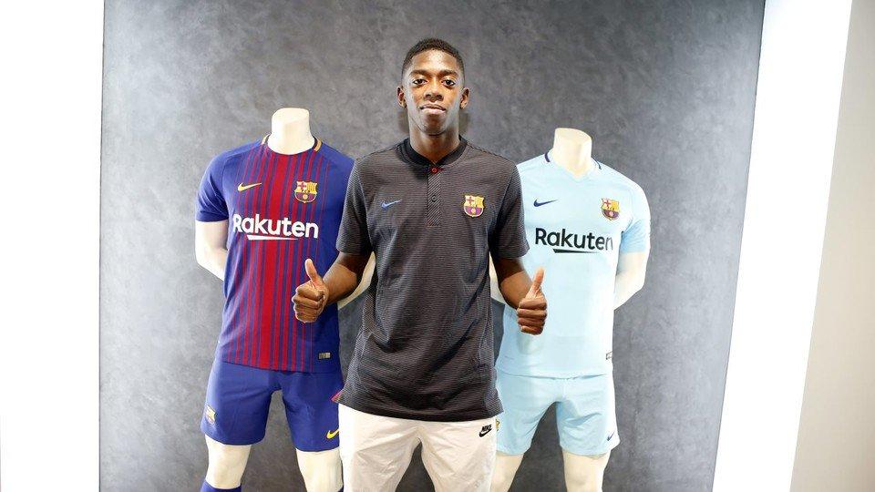 Selamat datang di Barcelona, Dembele!