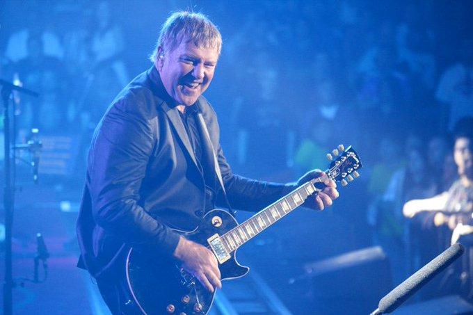 Wishing a happy birthday to prog rock icon, Rush s Alex Lifeson!