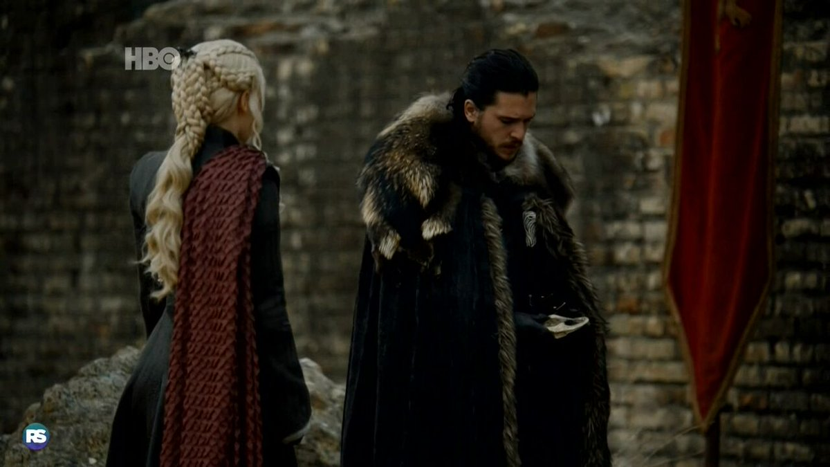 'Você flopou tudo dessa vez, Jon' 'Eu sei, miga' #GoTS7