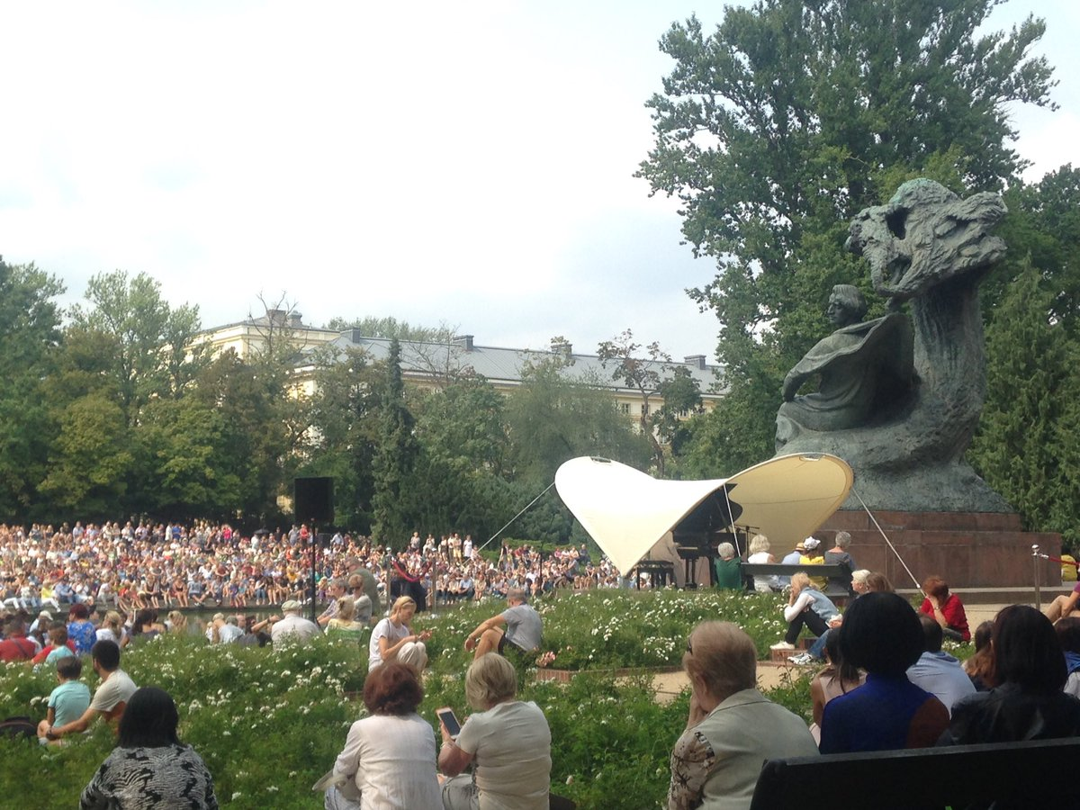 Andrew Hutchison On Twitter Chopin Concert Royal łazienki