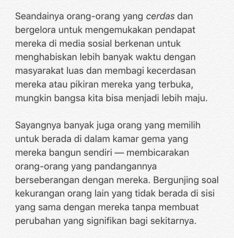 Tulisan - @alandakariza https://t.co/P980WXg7Qt