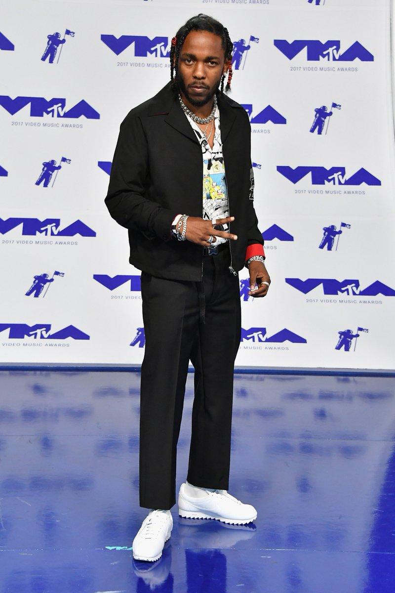new style 98501 86cf5 Nike Cortez Shark : SoleWatch KendrickLamar wearing Nike ...