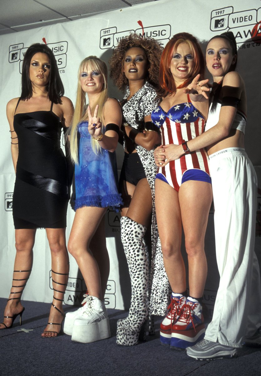 Solecollector Com On Twitter Can T Forget When Sporty Spice Melaniecmusic Shut Down The 1997 Vmas In Nike Air Max 97s
