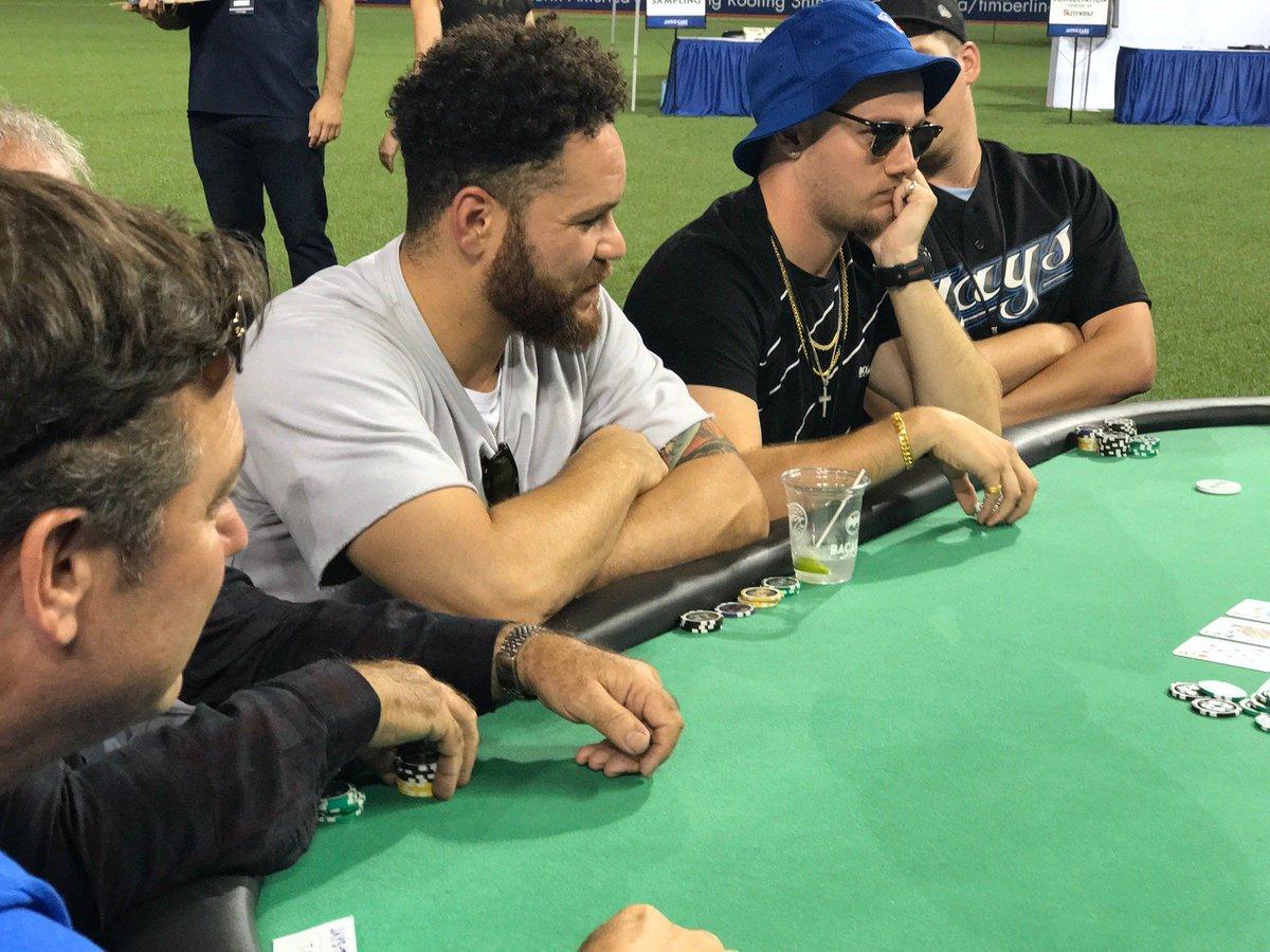 Jose Bautista, Ryan Goins, Russell Martin and Toronto Blue Jays