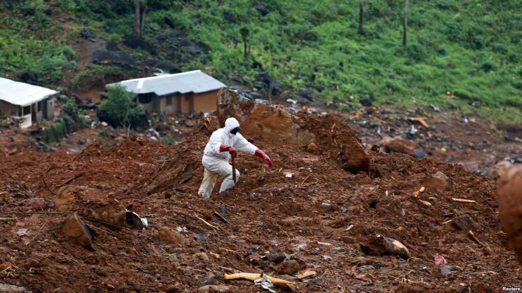 Local Leaders Say 1,000 Dead from Sierra Leone Mudslides https://t.co/yYh6f6th6Q https://t.co/3T6SLuaaCP