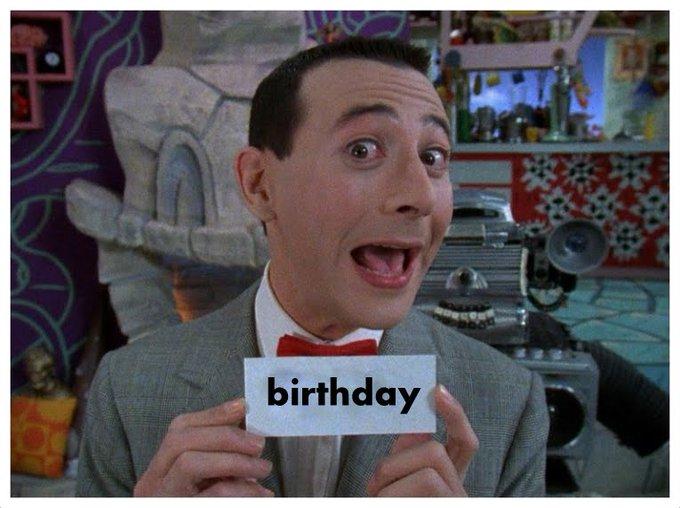 Happy 65th birthday to Paul Reubens aka