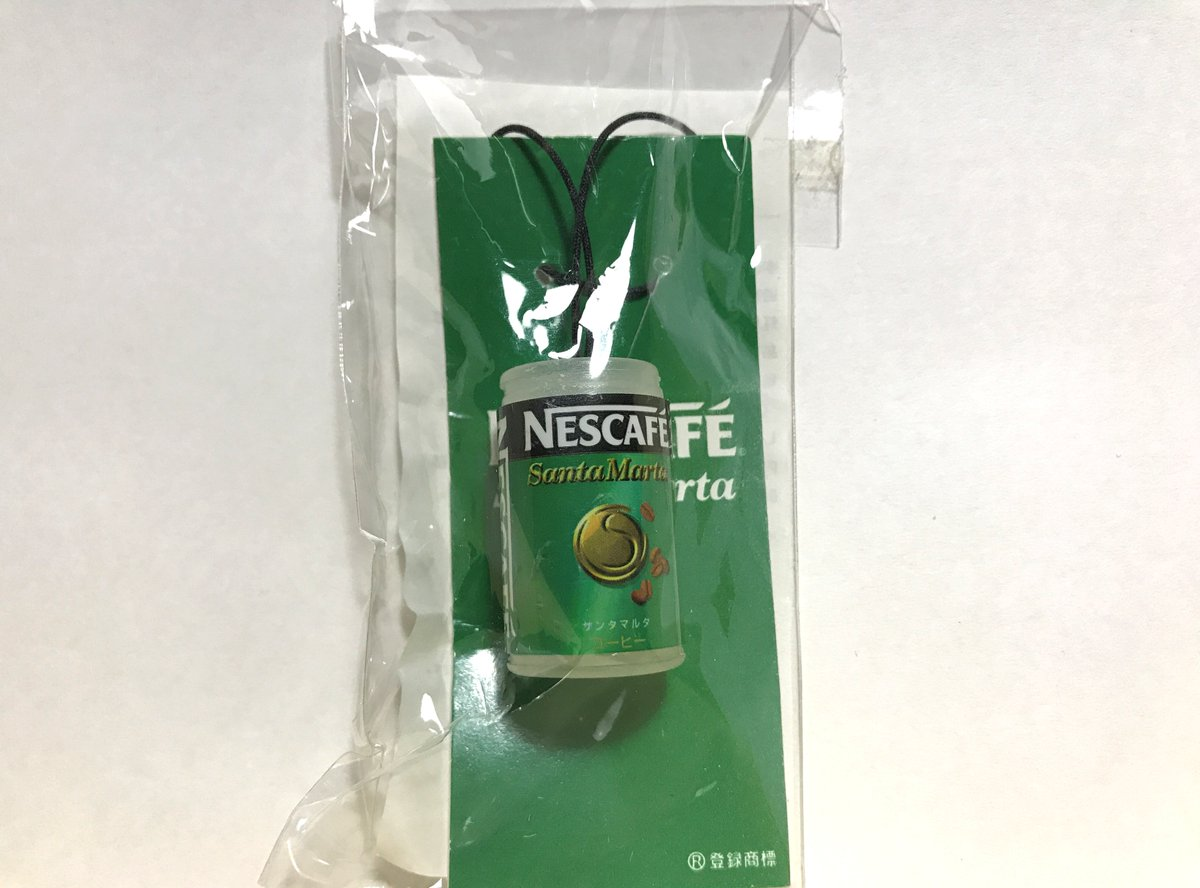 NESCAFE SantaMarta 携帯ストラップ