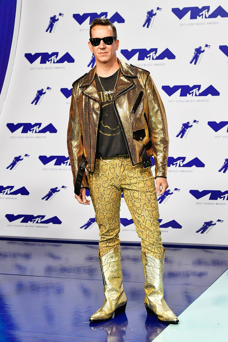0860f9d7e022 the sneaky worst part of this outfit the nirvana t shirt quite sure gold  snakeskin wasn