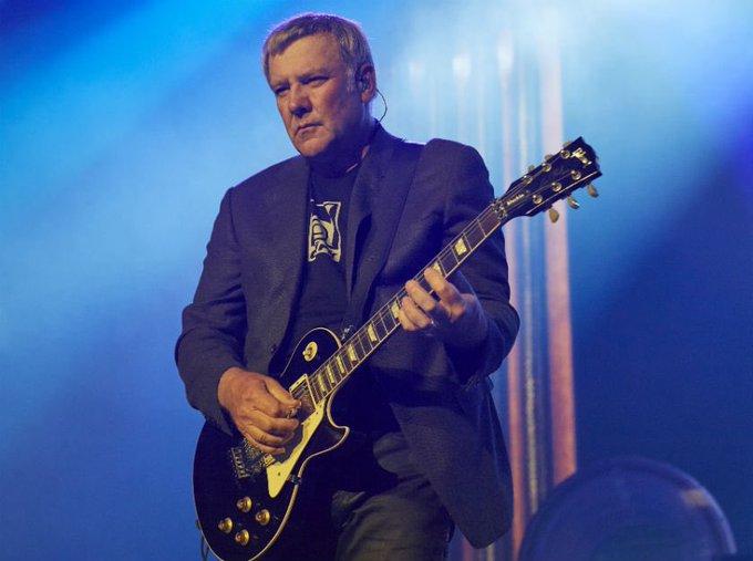Happy 64th Birthday to Rush guitarist, Alex Lifeson, born in Fernie, British Columbia, Canada on August 27, 1953.