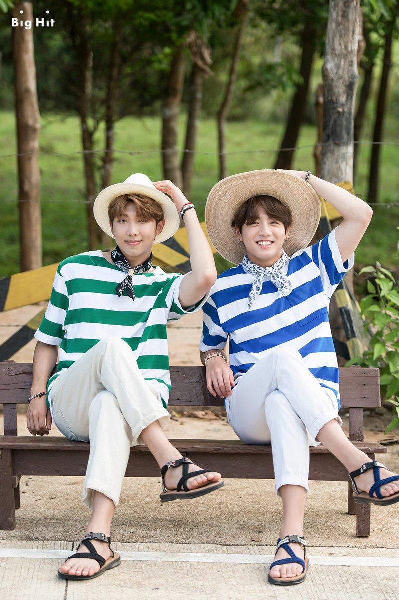 RM dan Jungkook BTS