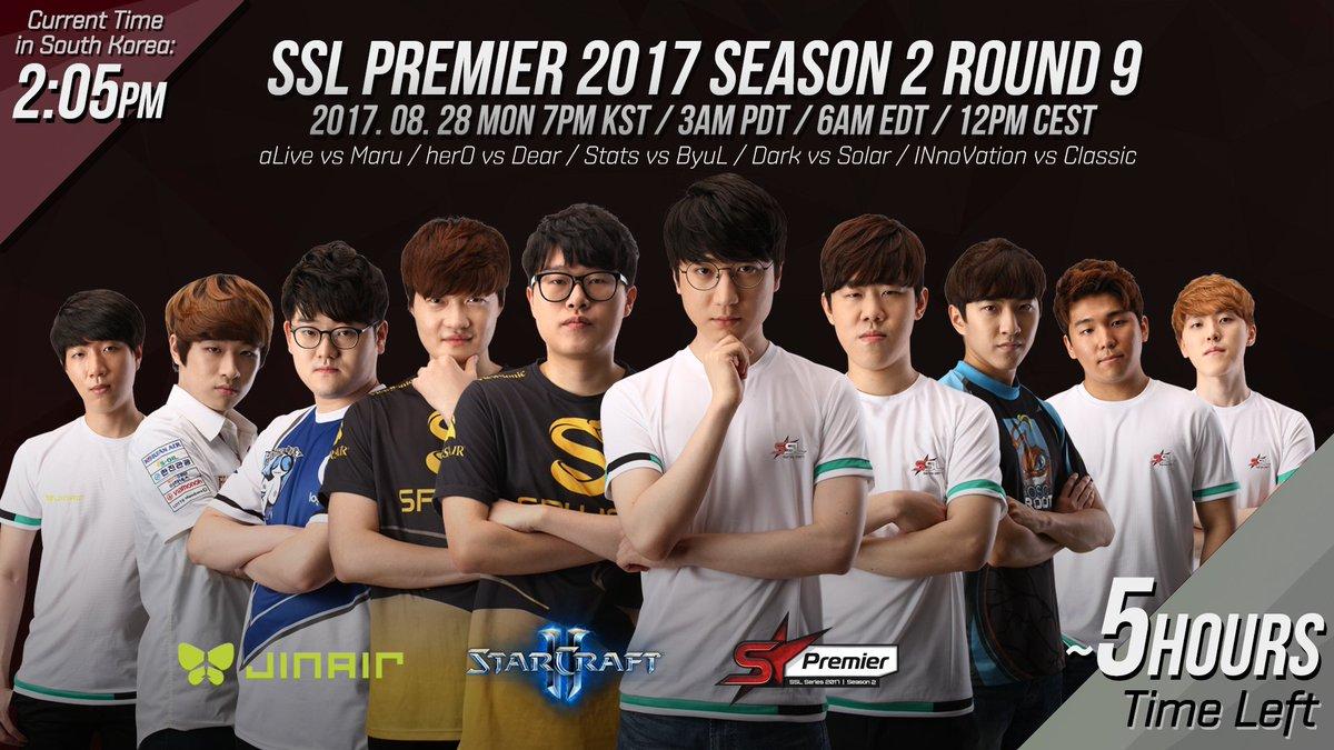 2017 SSL Premier 2. szezon 9. hét