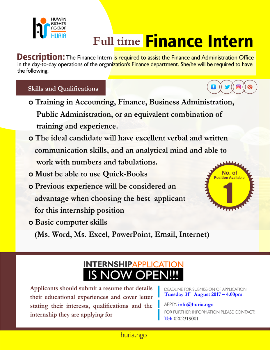 finance internship essay The united way experience: an internship renée, the united way experience: an internship reflective human resources 8) finance and 9) marketing and.