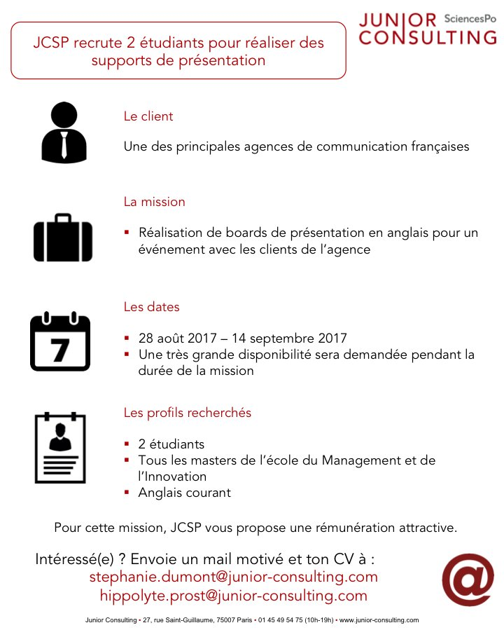 Junior Consulting On Twitter Nous Sommes Toujours à