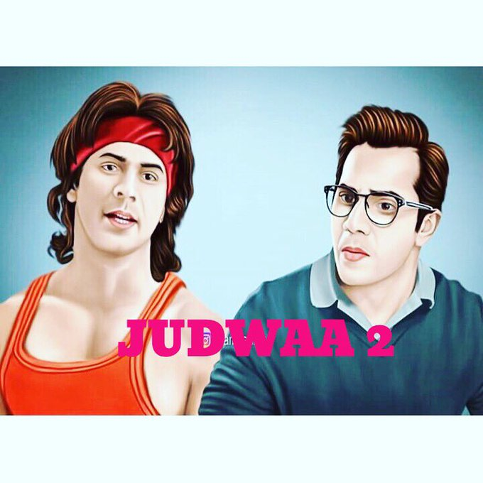 #judwaa2 #animation. Raja and prem #twinlife https://t.co/0MbEwP7yoP