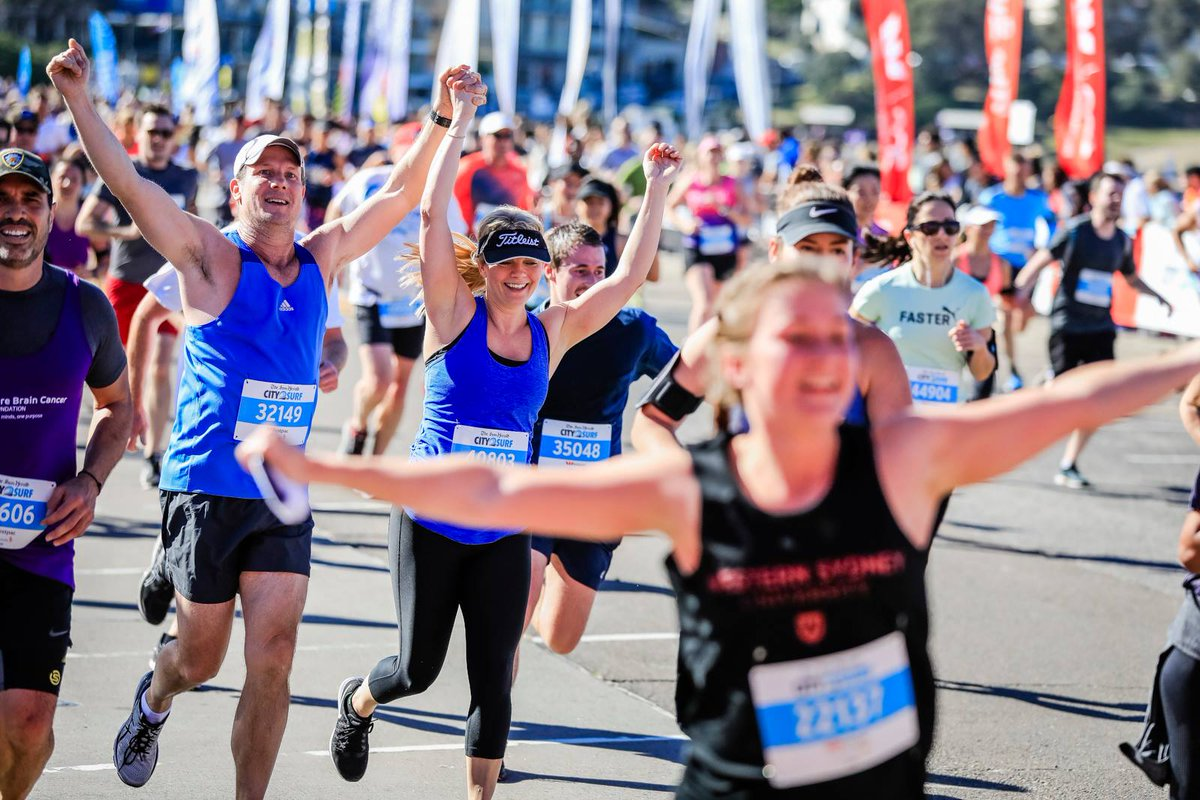 #City2Surf: Monday evening run inspirati...
