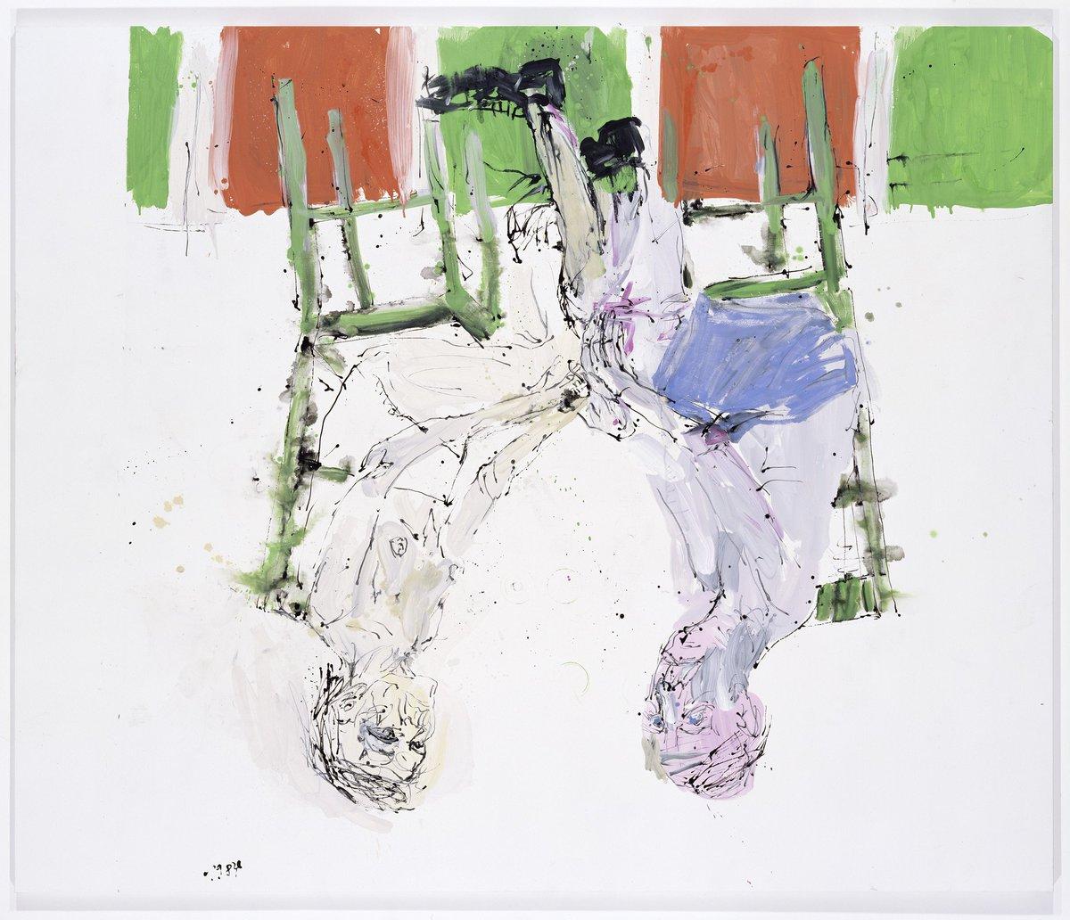 Georg Baselitz Remix Paintings