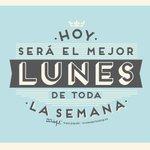 Image for the Tweet beginning: Vamos a por este #lunes