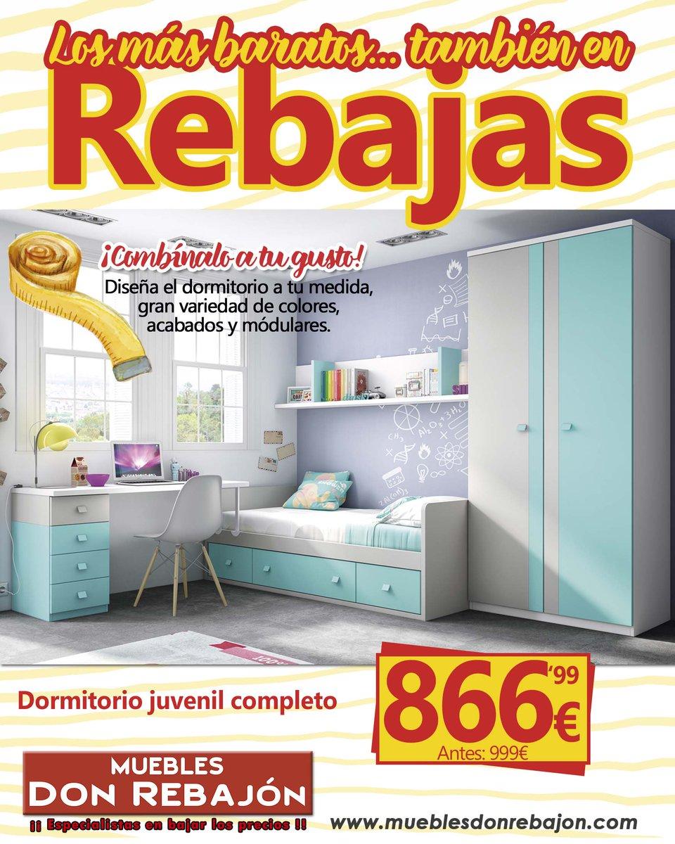 Muebles Don Rebajon On Twitter Con Este Dormitorio La  # Muebles Rebajon