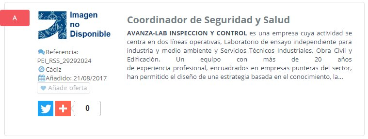 NUEVA OFERTA DE #EMPLEO: Coordinador de Seguridad y Salud --> https://t.co/izKdRWWNOS https://t.co/5zXQSjBiWu