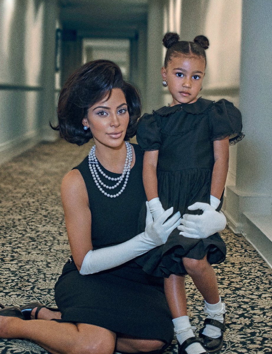 Kim Kardashian channels former US first lady Jackie O Kennedy in shoot for interview magazine