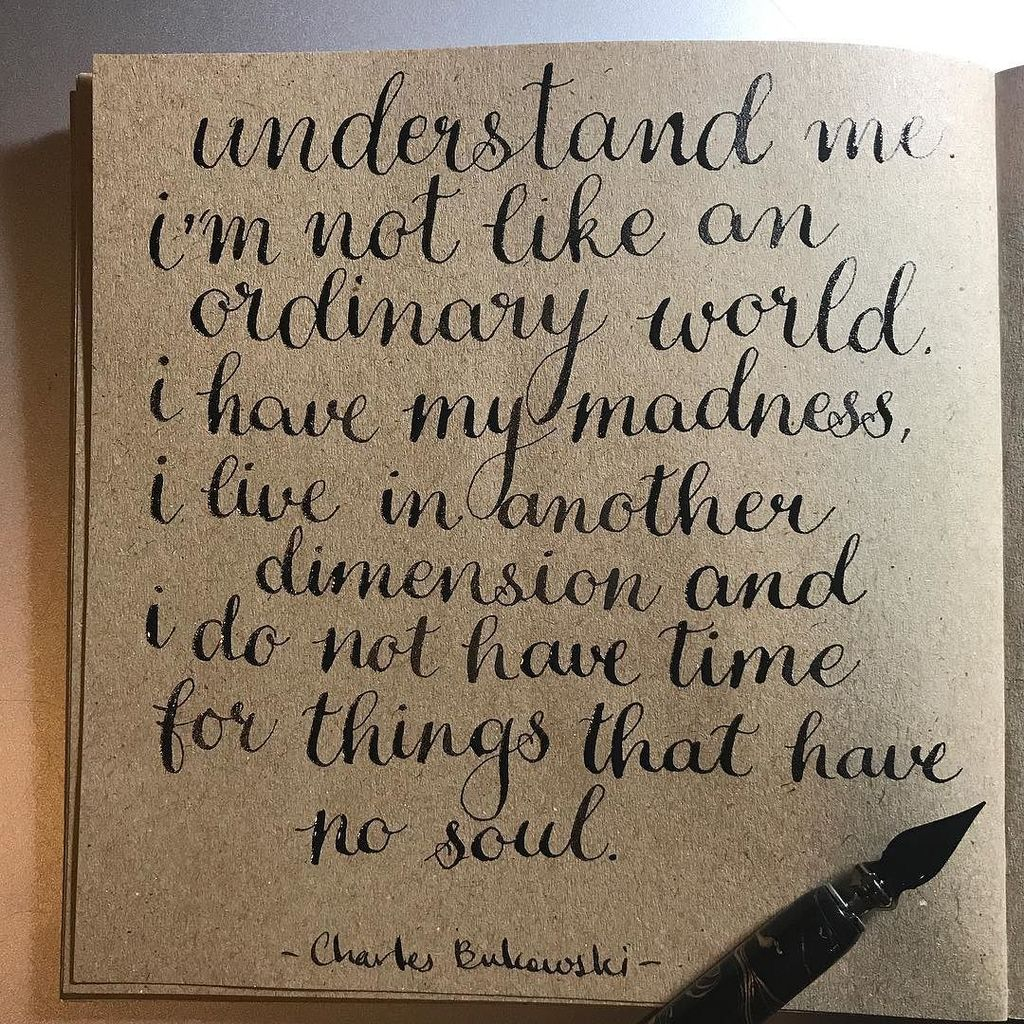 Understand me. I&#39;m not like an ordinary world ... #morganjtart #nofilter #art #illustration #lettering #calligraphy #drawing #draw #sociale… <br>http://pic.twitter.com/OOtjLJNhXQ
