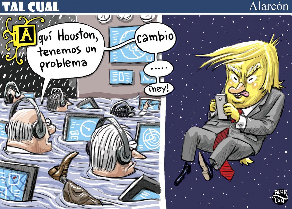 Houston, tenemos un problema - Alarcón