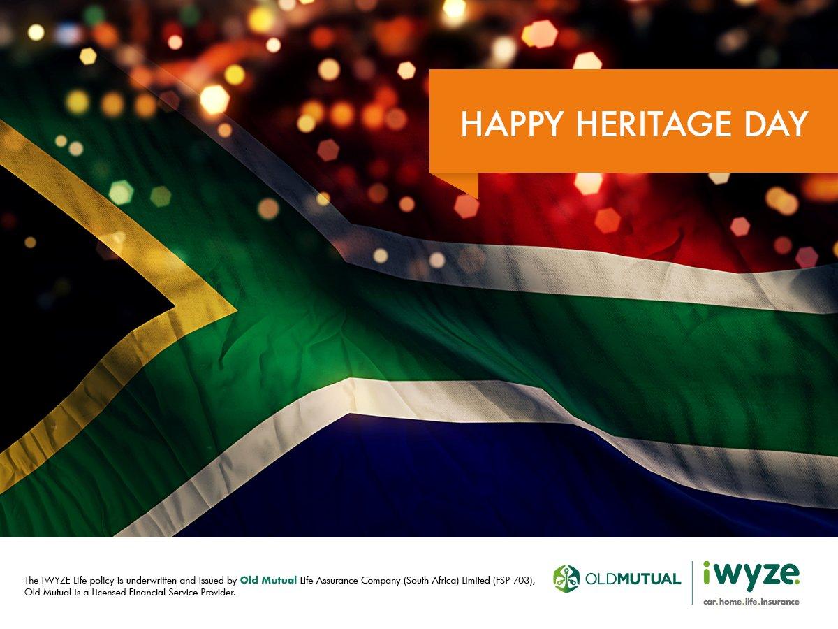 Old Mutual Iwyze On Twitter Happy Heritageday Sa We Can Change