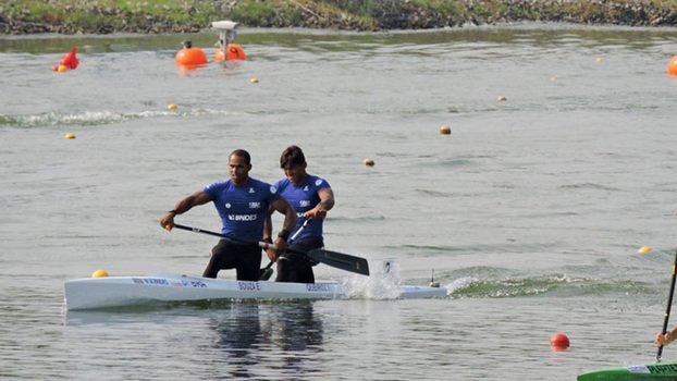 Medalhistas na Rio-16: Isaquias (foto) e Erlon encerram Mundial de canoagem com 4º lugar https://t.co/RpdzYLTSDw