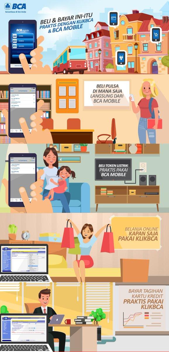 Cara beli pulsa di bca mobile,bank bca on twitter dapatkan