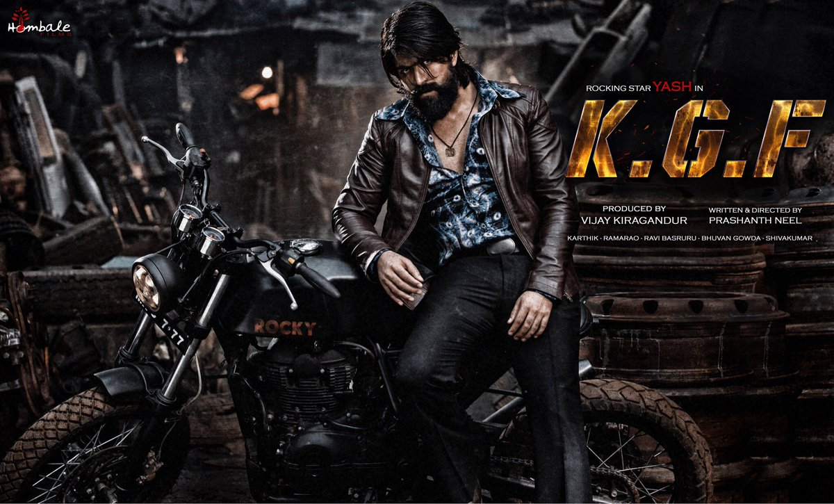 kgf official posters hindi