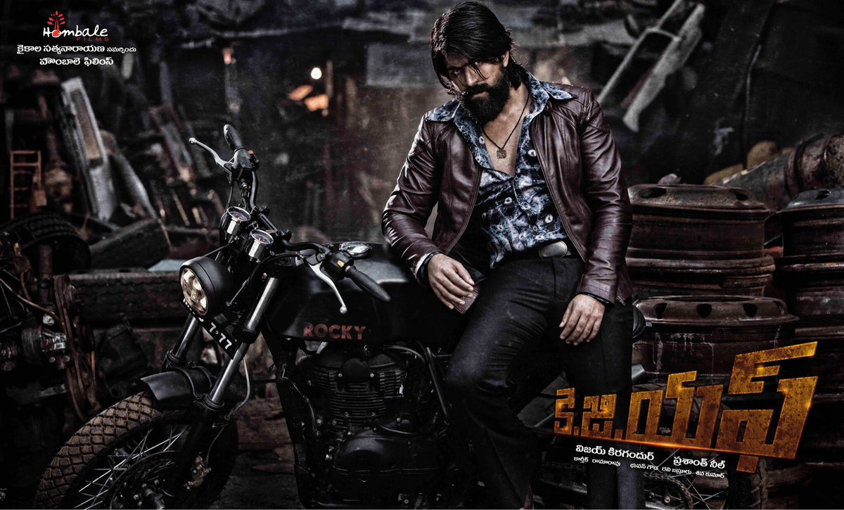 kgf official posters telugu