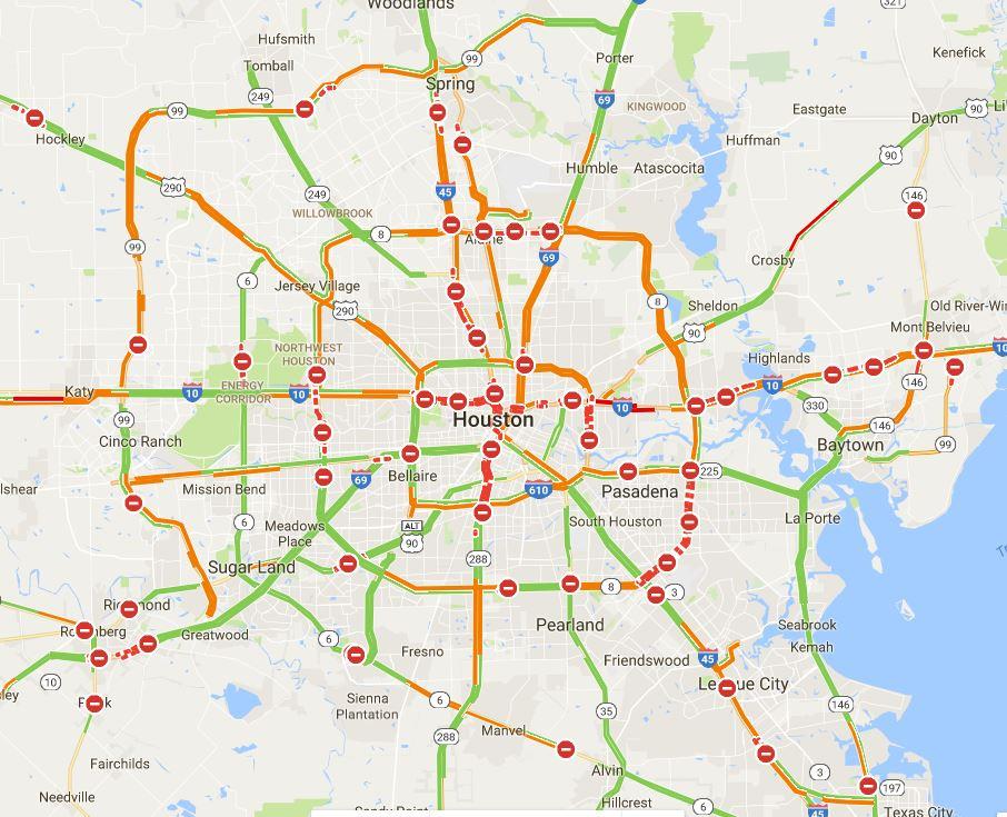 Kcbs Radio The Traffic Leader On Twitter The Google Traffic Map