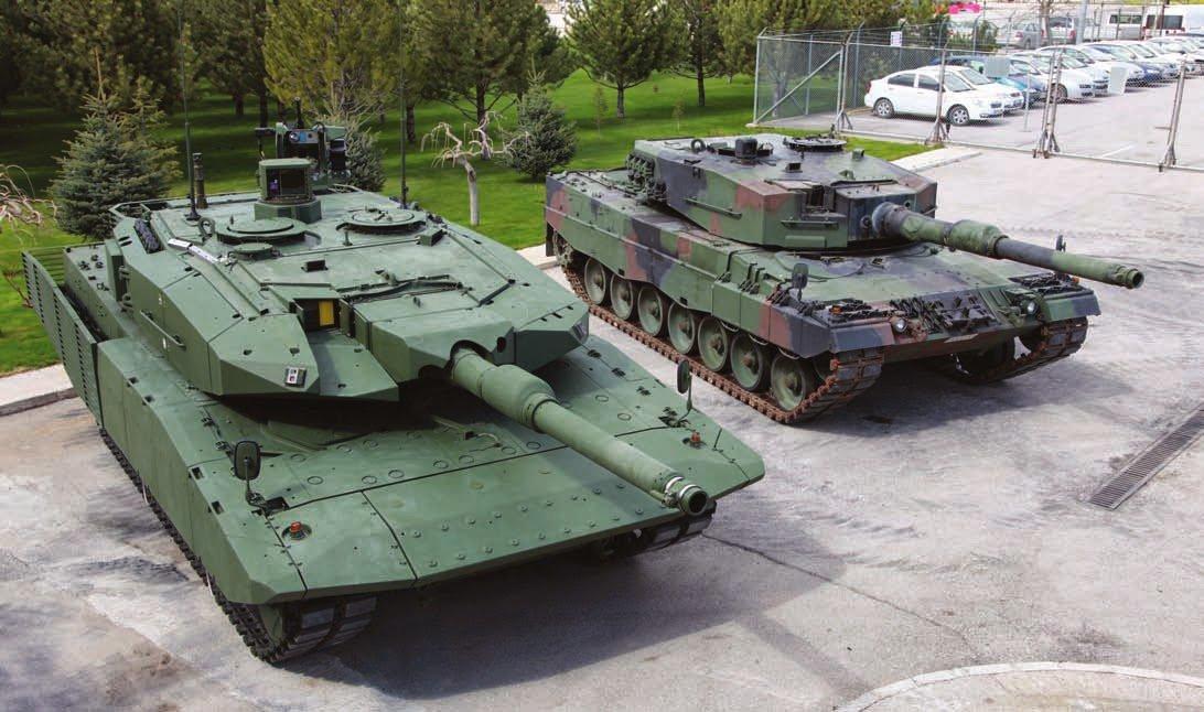تركيا تطلق طلبية جديدة لرفع مستوى دباباتها (Leopard 2A4 و M60A3 ) DIUdaMgXkAImSjw