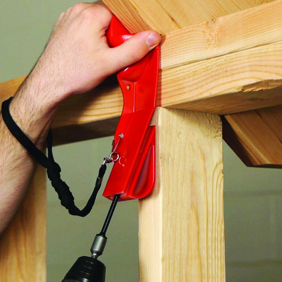 Fastenmaster timberlok rafter truss to top plate installation.