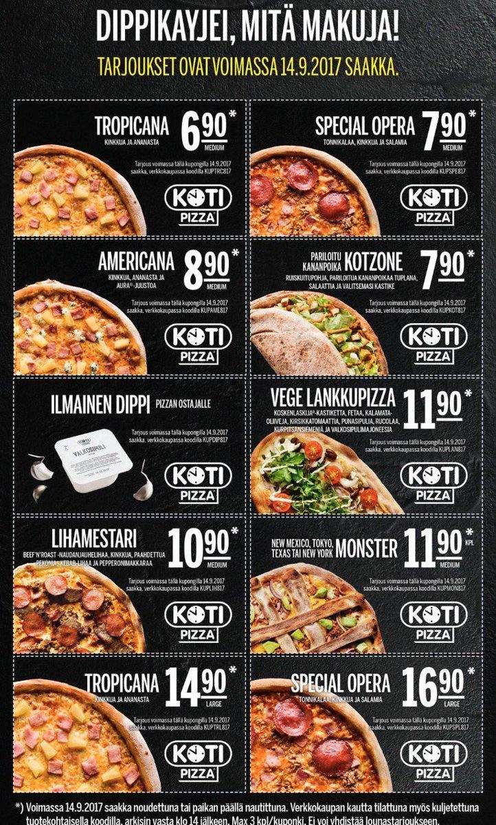 Kotipizza Kupongit