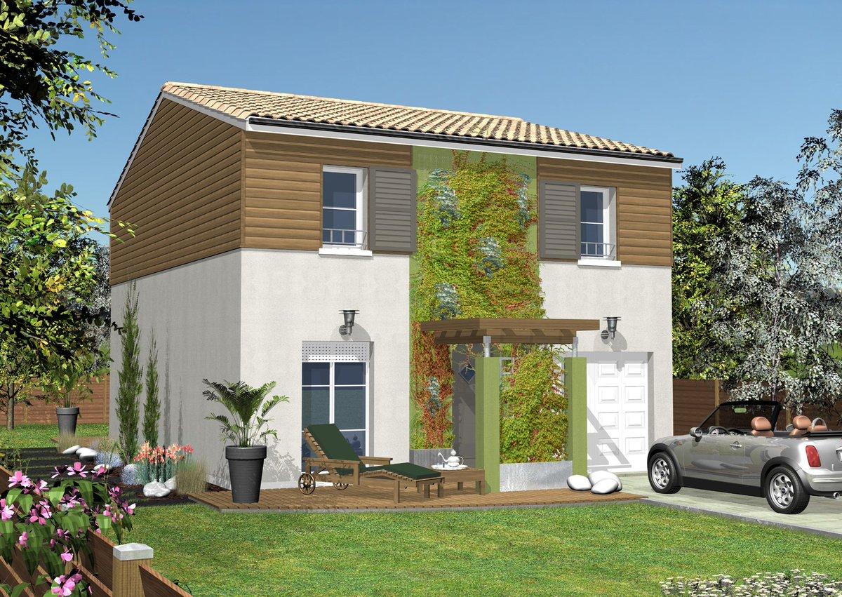 maisons clairlande (@maisonclairland) | twitter - Modele De Maison En L