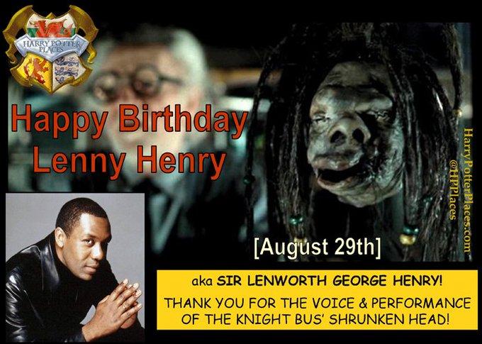 Happy Birthday to Lenny Henry!