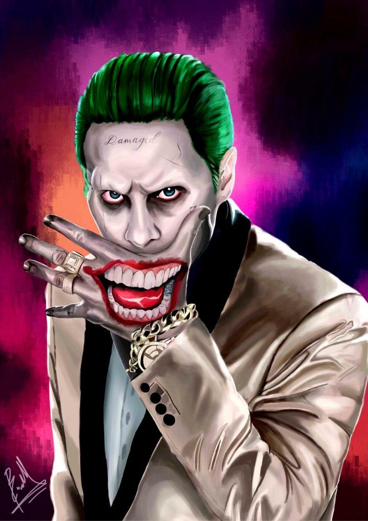Benedictus Brian On Twitter The Joker Fanart From Empire