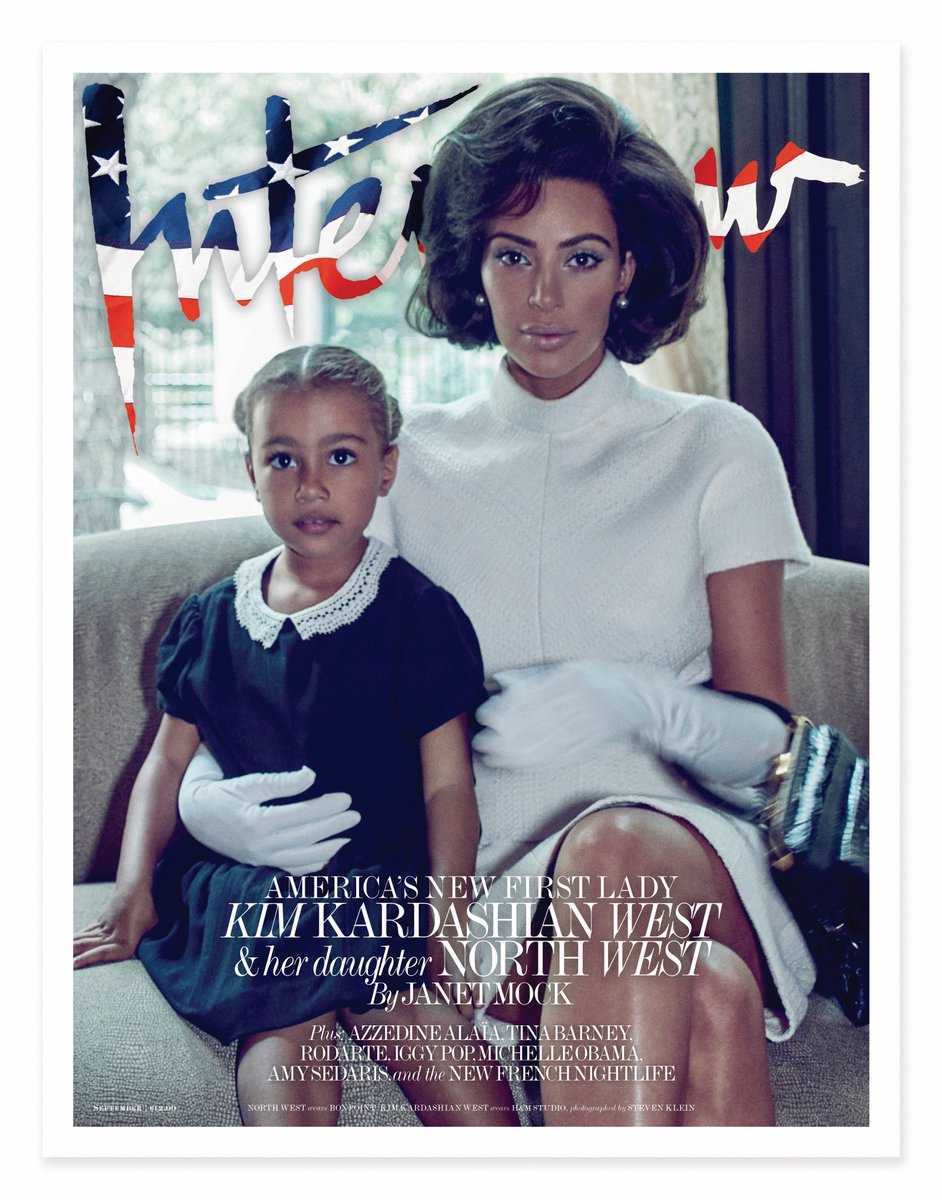 .@KimKardashian channels Jackie Kennedy Onassis together with her daughter North for our September cover: https://t.co/use7eTMnGd