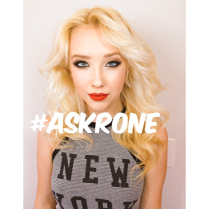 #ASKRONE STARTS NOW   You tag #Askrone I answer it!   #AMA #AskMeAnything https://t.co/ycuThZKZDd
