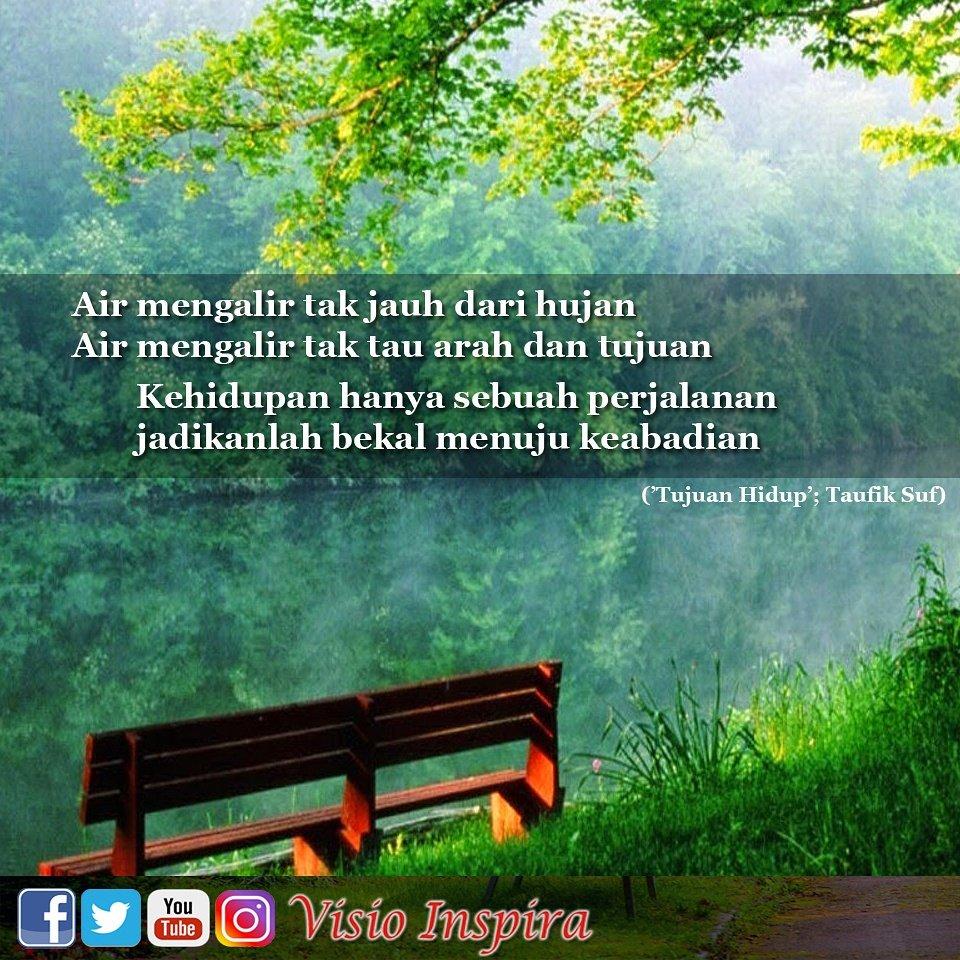 Visio Inspira On Twitter Air Mengalir Tak Jauh Dr Hujan