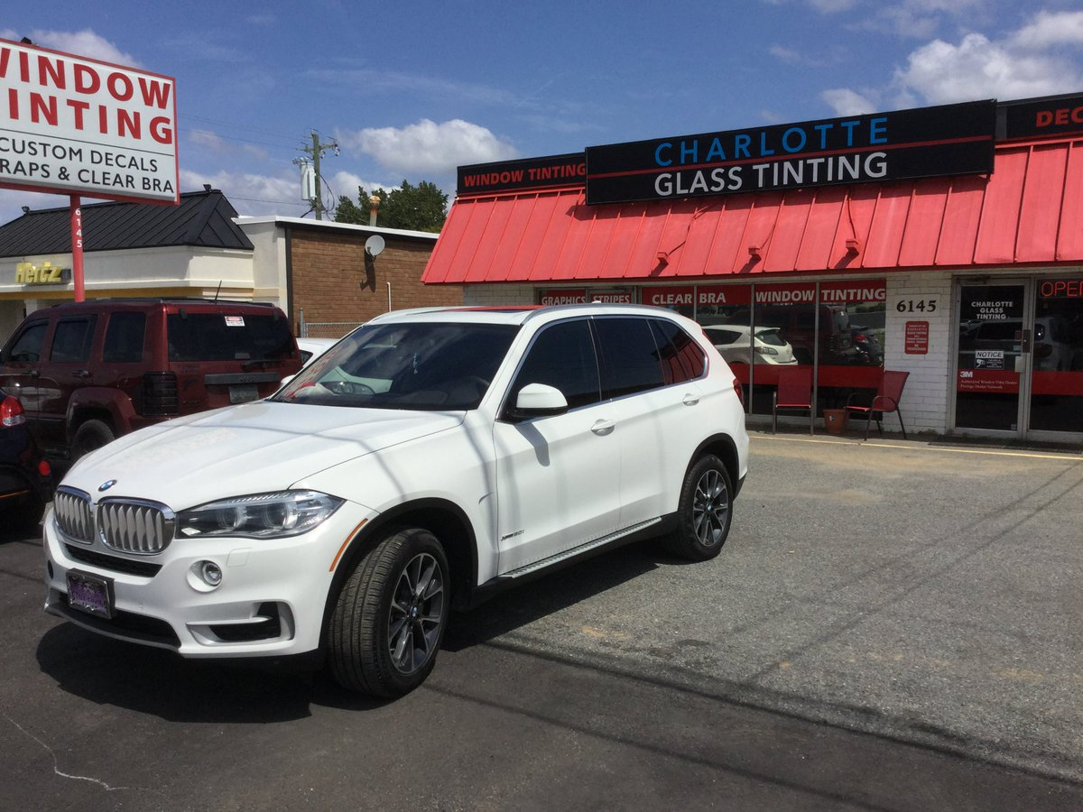 Charlotte Tint On Twitter 2014 BMW X5 With 3M FX Premium 40 The Front And Color Stable 5 Sides 3mwfdealers Fxpremium Colorstable Bmw