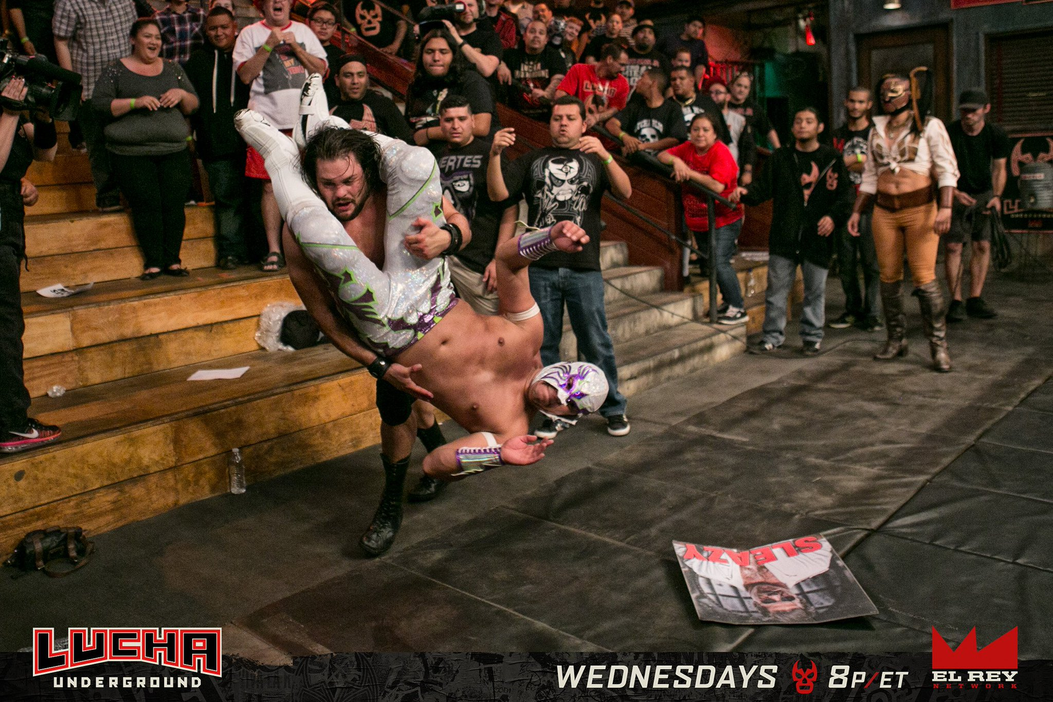 Image result for lucha underground Sexy Star vs Joey Ryan